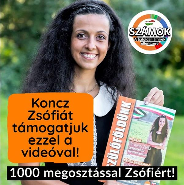 With 1000 shares for the victory of Zsófia Koncz!
