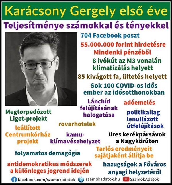The first year of Gergely Karácsony