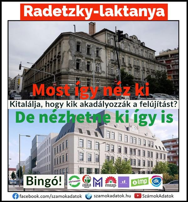 The left does not like the ruined Radetzky barracks being renewed