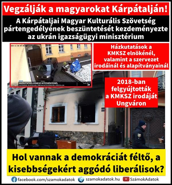 Hungarians in Transcarpathia are constantly being treated, but liberals are silent at home and in Brussels
