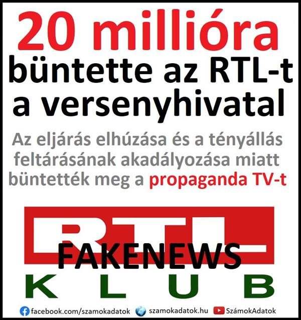 When karma strikes ... left-liberal propagandistic RTL fined by Competition Authority