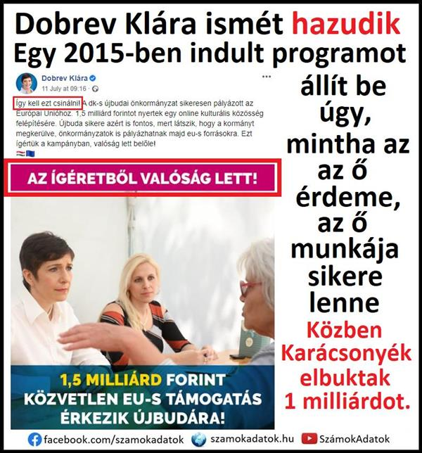 The Dobrev / Karácsony / László axis is lying again, silencing and distorting reality