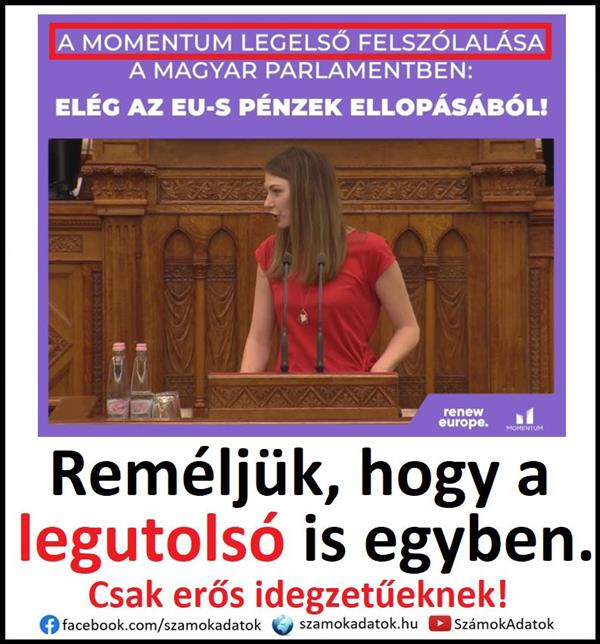 The Momentum was admitted to the Parliament building!