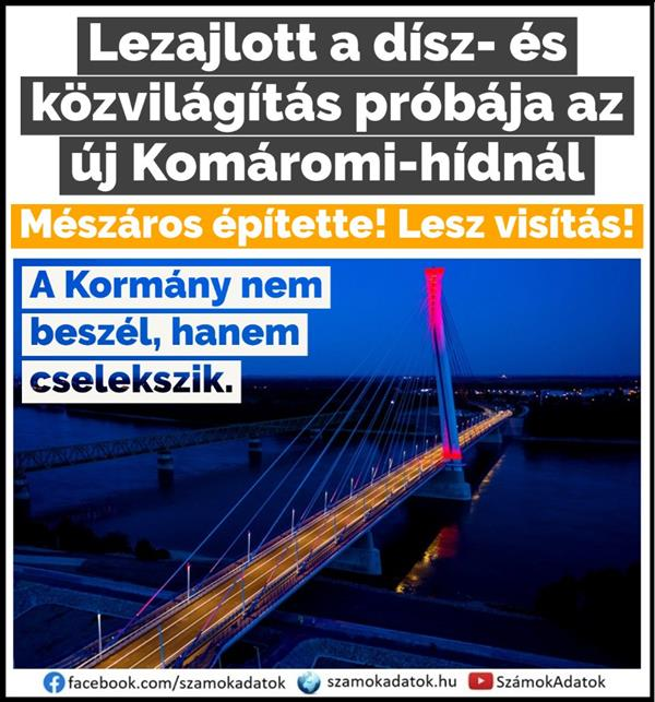 The bridge built by Hídépítő and Mészáros will soon be available to the traveling public