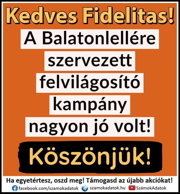 It was very good at Fidelitas Balatonlelle!