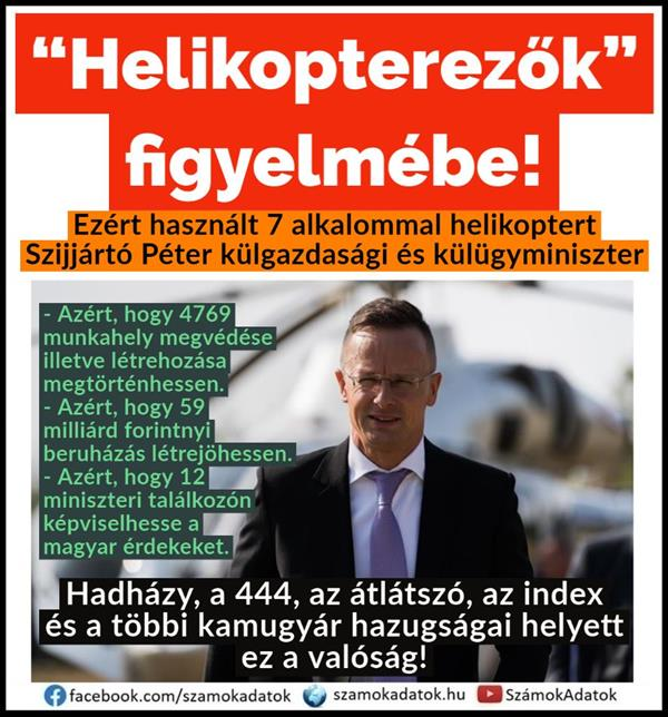 "Tamás Menczer responded to ""helicopters"""
