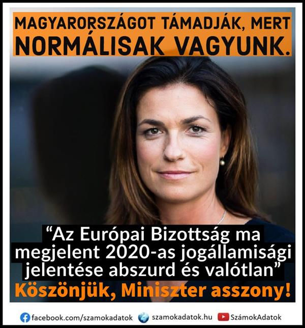 Hungary is being attacked by loopy liberals because we have been representing normal human values ​​for 1000 years