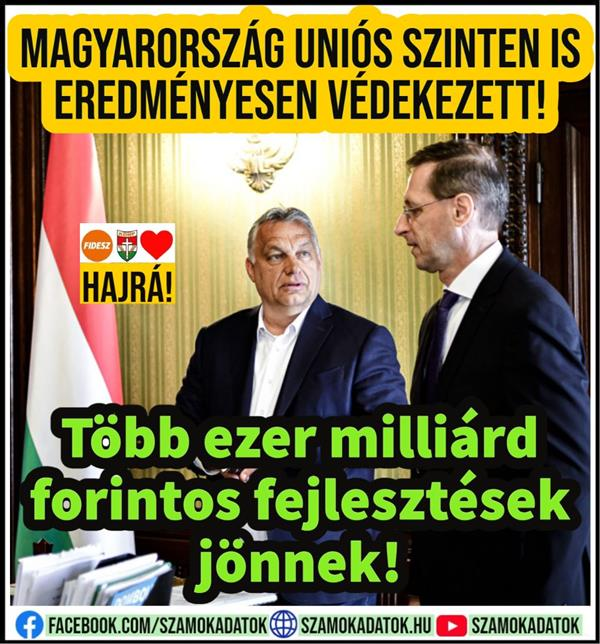 Hungary defended itself successfully at the EU level as well!