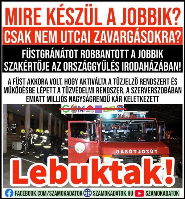 What is Jobbik doing?  Just not for street riots?