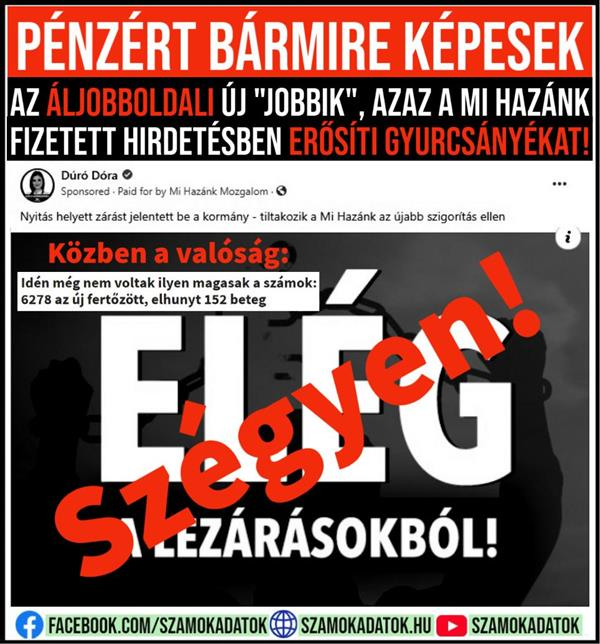 "The new ""Jobbik"" on the pseudo-right, ie Our Country, strengthens Gyurcsánys in a paid advertisement!"