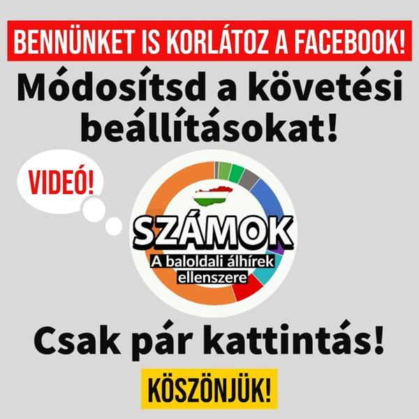 We are also limited by Facebook!