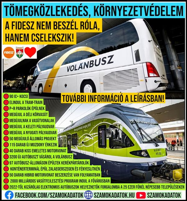 Public transport, environmental protection