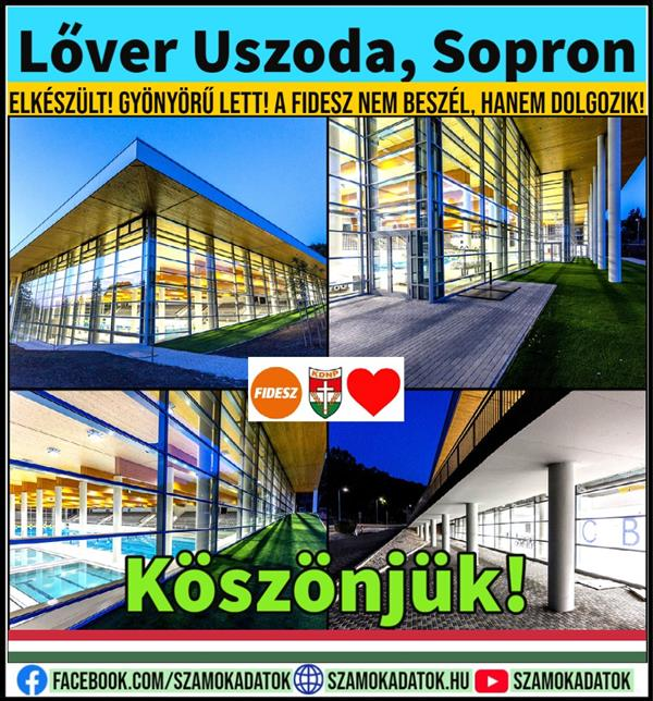 Lőver Swimming pool, Sopron